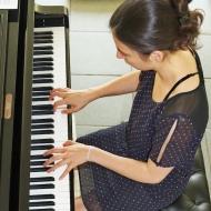 Pauline Perret, pianiste