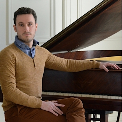 Gabriel Rigaux, piano