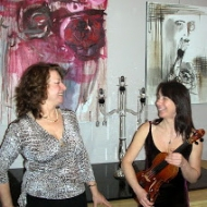 Karine Dufour, violon, et Isabelle Martin, piano,